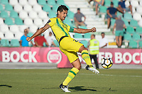 SETUBAL, PORTUGAL, 30.07.2017 - TAÇA CTT: V. SETUBAL x TONDELA - Ricardo Costa do Tondela durante a partida de futebol a contar para a 2ª fase da Taça da Liga CTT entre V. Setúbal e Tondela, no Estadio do Bonfim em Setubal, Portugal, nesse domingo 30. (Foto: Bruno de Carvalho / Brazil Photo Press)