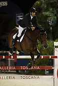29th September 2017, Real Club de Polo de Barcelona, Barcelona, Spain; Longines FEI Nations Cup, Jumping Final; AL MARRI Abdullah Mohd (UAE)  riding Sama Dubai Fbh during the first round of the Nations Cup