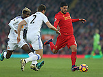 Emre Can of Liverpool during the Premier League match at the Anfield Stadium, Liverpool. Picture date: November 26th, 2016. Pic Simon Bellis/Sportimage