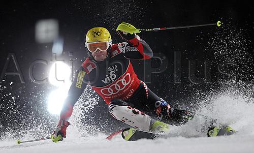 05.01.2012 Zagreb, Croatia.  Ski Alpine FIS World Cup Slalom the men Night slalom Picture shows Ivica Kostelic CRO