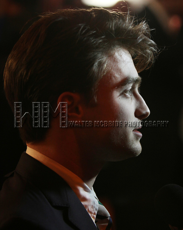 Daniel Radcliffe.attending the 56th Annual Drama Desk Award Nominees Reception at Bombay Palace in New York City.