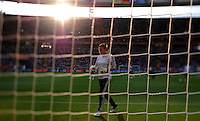 Goalkeeper Nadine Angerer of team Germany during the FIFA Women's World Cup at the FIFA Stadium in Frankfurt, Germany on June 30th, 2011.