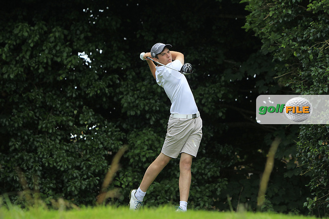 Harry Duggan (Kilkenny) on the 3rd tee during Round 2 of the Ulster Boys' Amateur Open Championship at Bangor Golf Club on Wednesday 27th July 2016.<br /> Picture:  Golffile | Thos Caffrey<br /> <br /> All photos usage must carry mandatory copyright credit   (&copy; Golffile | Thos Caffrey)