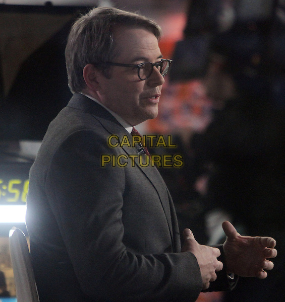 NEW YORK, NY November 18:Matthew Broderick  at Today Show to talk about his new movie Rules Don't Apply in New York City.November 18, 2016. <br /> CAP/MPI/RW<br /> &copy;RW/MPI/Capital Pictures