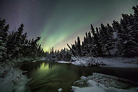 Stream in the Alaska Range, Interior, Alaska.