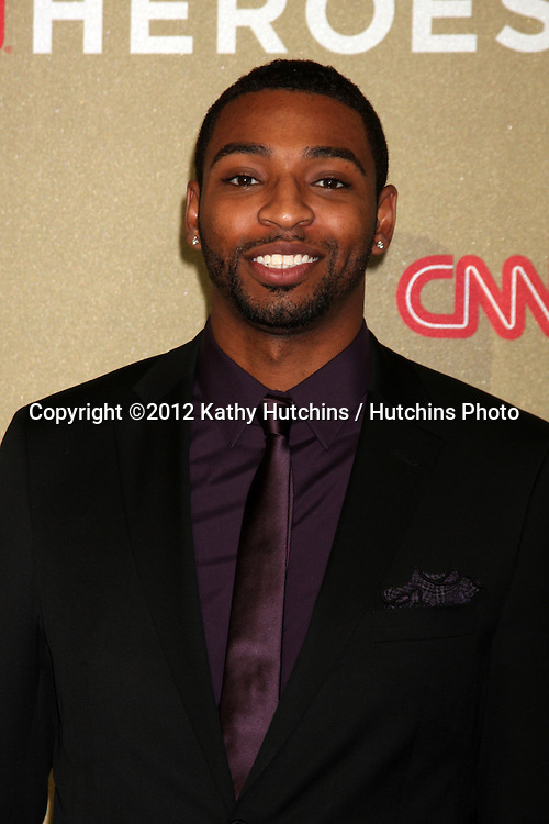LOS ANGELES - DEC 2:  Cullen Jones arrives to the 2012 CNN Heroes Awards at Shrine Auditorium on December 2, 2012 in Los Angeles, CA