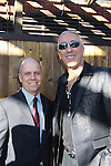 Scott Hamilton Olympic Figure Skater and Dee Snider (Twisted Sister) and Celebrity Apprentice - The 2012 Skating with the Stars - a benefit gala for Figure Skating in Harlem celebrating 15 years on April 2, 2012 at Central Park's Wollman Rink, New York City, New York.  (Photo by Sue Coflin/Max Photos)
