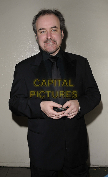 David Arnold .The George Michael special concert, Royal Opera House, Covent Garden, London, England..November 6th, 2011.half length black suit goatee facial hair .CAP/CAN.©Can Nguyen/Capital Pictures.