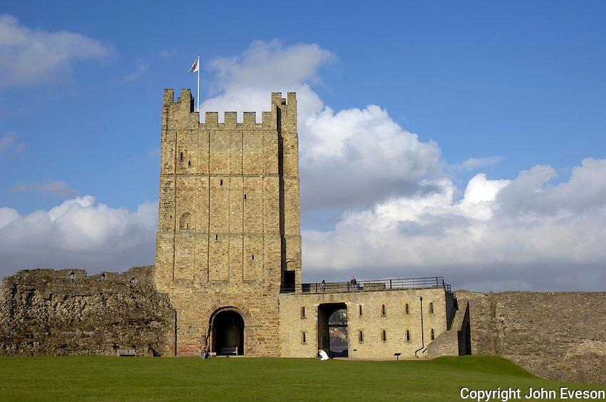 Main keep at Richmond Castle.