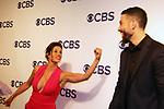 Missy Peregrym & Zeeko Zaki - FBI - CBS Upfront 2018 on May 17, 2018 at the Plaza Hotel, New York City, New York with new Prime Time 2018-19 shows (Photo by Sue Coflin/Max Photo)