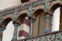 Deutschland, Hildesheim, Chorschranke in St. Michael, Unesco-Weltkulturerbe