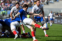Baptiste Serin France<br /> Roma 16-03-2019 Stadio Olimpico<br /> Rugby Six Nations tournament 2019  <br /> Italy - France <br /> Foto Antonietta Baldassarre / Insidefoto