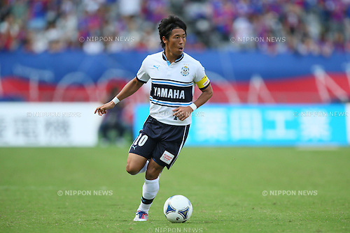 Hiroki Yamada (Jubilo), .SEPTEMBER 29, 2012 - Football /Soccer : .2012 J.LEAGUE Division 1 .between F.C. Tokyo 2-1 Jubilo Iwata .at Ajinomoto Stadium, Tokyo, Japan. .(Photo by YUTAKA/AFLO SPORT) [1040]