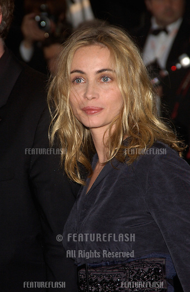 EMMANUELLE BEART at the awards gala for the 57th Cannes Film Festival..May 22, 2004