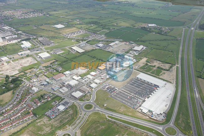 Aerial view of the Drogheda Retail Park with the M1 in view. 04/06/06...Photo NEWSFILE/Fran Caffrey.(Photo credit should read Fran Caffrey/NEWSFILE)....This Picture has been sent you under the condtions enclosed by:.Newsfile Ltd..The Studio,.Millmount Abbey,.Drogheda,.Co Meath..Ireland..Tel: +353(0)41-9871240.Fax: +353(0)41-9871260.GSM: +353(0)86-2500958.email: pictures@newsfile.ie.www.newsfile.ie.FTP: 193.120.102.198...This picture is from Fran Caffrey@newsfile.ie