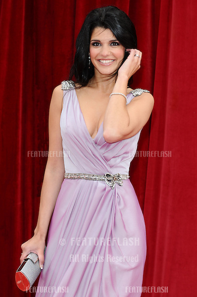 Natalie Anderson arrives at the British Soap awards 2011 held at the Granada Studios, Manchester..14/05/2011  Picture by Steve Vas/Featureflash