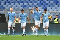 Joaquin Correa of Lazio celebrates after scoring a goal<br /> Roma 10-11-2019 Stadio Olimpico <br /> Football Serie A 2019/2020 <br /> SS Lazio - Lecce<br /> Foto Antonietta Baldassarre / Insidefoto