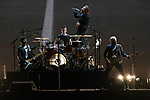 International rock band U2 performs during the Joshua Tree tour.