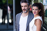 Leonardo Sbaraglia and Clara Lago during the photocall of  Al final del tunel at Warner Bros Espana in Madrid. August 8, 2016. (ALTERPHOTOS/Rodrigo Jimenez)