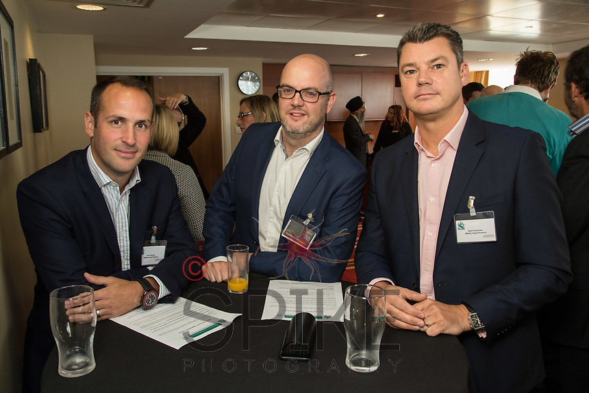 Pictured from left are Tom Adams of Affinity Asset Finance, Time Speed of Shakespeare Martineau and Neil Kimberley of Affinity Asset Finance
