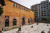 Agia Sofia Sophia church. Thessaloniki, Macedonia, Greece