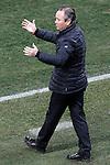 UD Almeria's coach Juan Ignacio Martinez during La Liga match.February 21,2015. (ALTERPHOTOS/Acero)