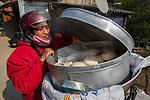 Man selling dumplings, Vietnam