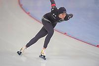 SPEEDSKATING: HAMAR: Vikingskipet, 28-02-2020, ISU World Speed Skating Championships, Sprint, 500m Ladies, Brittany Bowe (USA), ©photo Martin de Jong
