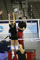 16 December 2006: Stanford Cardinal assistant coach Jason Mansfield during Stanford's 2006 NCAA Division I Women's Volleyball Final Four closed practice at the Qwest Center in Omaha, NE.