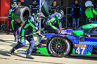 #47 CETILAR RACING (ITA) DALLARA P217 GIBSON LMP2 ROBERTO LACORTE (ITA) ANDREA BELICCHI (CHE) GIORGIO SERNAGIOTTO (ITA)