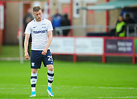 Preston North End's Kevin O'Connor<br /> <br /> Photographer Kevin Barnes/CameraSport<br /> <br /> The Carabao Cup - Accrington Stanley v Preston North End - Tuesday 8th August 2017 - Crown Ground - Accrington<br />  <br /> World Copyright &copy; 2017 CameraSport. All rights reserved. 43 Linden Ave. Countesthorpe. Leicester. England. LE8 5PG - Tel: +44 (0) 116 277 4147 - admin@camerasport.com - www.camerasport.com