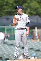 Binghamton Mets pitcher Adam Kolarek (22) during game against the Trenton Thunder at ARM & HAMMER Park on July 27, 2014 in Trenton, NJ.  Trenton defeated Binghamton 7-3.  (Tomasso DeRosa/Four Seam Images)