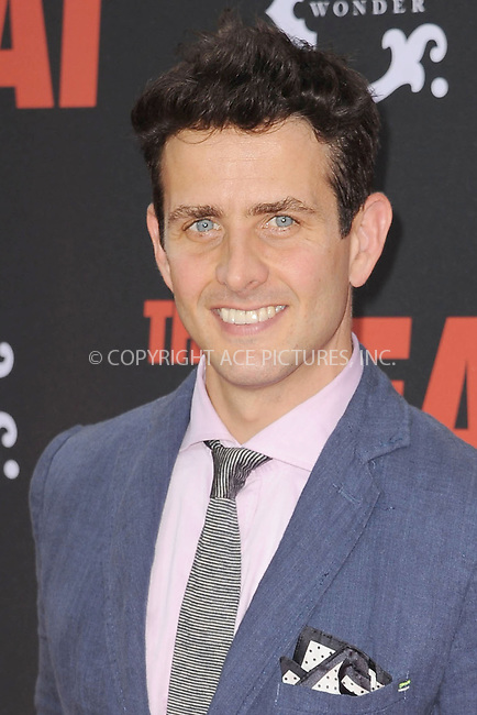 WWW.ACEPIXS.COM<br /> June 23, 2013...New York City <br /> <br />  Joey McIntyre attending 'The Heat' New York Premiere at the Ziegfeld Theatre on June 23, 2013 in New York City.<br /> <br /> Please byline: Kristin Callahan... ACE<br /> Ace Pictures, Inc: ..tel: (212) 243 8787 or (646) 769 0430..e-mail: info@acepixs.com..web: http://www.acepixs.com