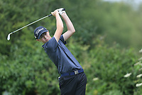 Adam Challoner (Galway Bay) during the Connacht U14 Boys Amateur Open, Ballinasloe Golf Club, Ballinasloe, Galway,  Ireland. 10/07/2019<br /> Picture: Golffile | Fran Caffrey<br /> <br /> <br /> All photo usage must carry mandatory copyright credit (© Golffile | Fran Caffrey)