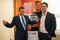 Mike Bushell with Iain Musgrove of Air IT