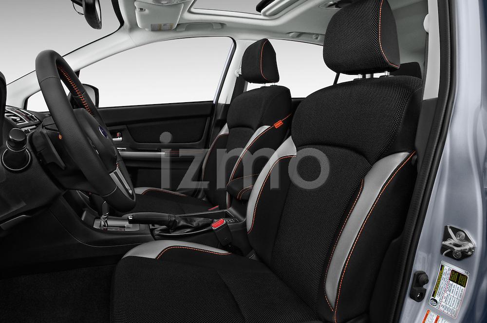 Front seat view of 2017 Subaru Crosstrek 2.0i Premium CVT 5 Door SUV Front Seat  car photos
