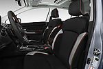 Front seat view of 2017 Subaru Crosstrek 2.0i Premium CVT 5 Door SUV Front Seat  car photos
