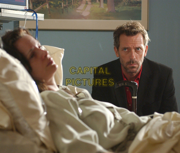 """STACY EDWARDS & HUGH LAURIE.in House.""""The Socratic Method"""" .*Editorial Use Only*.www.capitalpictures.com.sales@capitalpictures.com.Supplied by Capital Pictures."""