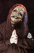 (#8) Corey Taylor – lead vocals,  Slipknot, Studio Portrait Session,.In Desmoines Iowa 2001.Photo Credit: Eddie Malluk/Atlas Icons.com