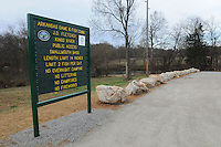 NWA Democrat-Gazette/FLIP PUTTHOFF <br /> The new J.D. Fletcher Kings River access at the U.S. 62 bridge, seen here Friday March 4, 2016, is on the west side of the bridge. The access was formerly on the east side.