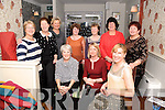 Kenmare ladies who dined out in No 35 restaurant, Kenmare, to celebrate Women's Christmas on Monday night, pictured are Gail Barwick, Ann Bradshaw, Elizabeth Jansen, Christine Bender, Gill Newlyn, Sue Rook, Cathy Teahan, Mary Read, Fiona Marshall, Hieke O'Sullivan.