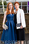 Sarah and Breda Mullins (Tralee), pictured at the Rose of Tralee Fashion Show on Sunday night last held in the Dome, Tralee.