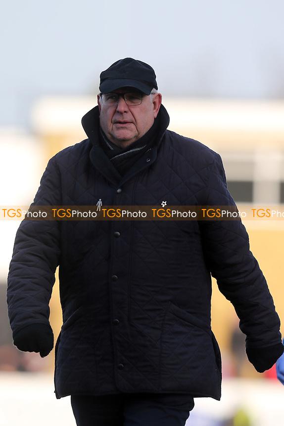 Dagenham manager John Still during Dagenham & Redbridge vs Chester, Vanarama National League Football at the Chigwell Construction Stadium on 24th February 2018