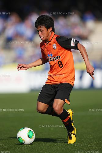 Hideki Ishige (S-Pulse), .MARCH 9, 2013 - Football /Soccer : .2013 J.LEAGUE Division 1 .between Shimizu S-Pulse 0-5 Yokohama F.Marinos .at IAI Stadium Nihondaira, Shizuoka, Japan. .(Photo by YUTAKA/AFLO SPORT) [1040]