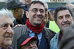 Juan Carlos Monedero is seen at the march of pensioners at Puerta del Sol on October 15, 2019 in Madrid, Spain.(ALTERPHOTOS/ItahisaHernandez)