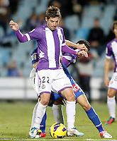 Real Valladolid's Victor Perez during La Liga match.November 18,2012. (ALTERPHOTOS/Acero)
