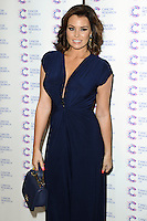 Jessica Wright arriving at James' Jog On To Cancer Event, Kensington Roof Gardens, London. 09/04/2014 Picture by: Alexandra Glen / Featureflash