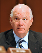 Washington, DC - July 13, 2009 -- United States Senator Ben Cardin (Democrat of Maryland) listens to the opening statements as the U.S. Senate Judiciary Committee considers the nomination of Judge Sonia Sotomayor as Associate Justice of the U.S. Supreme Court on Monday, July 13, 2009.  .Credit: Ron Sachs / CNP