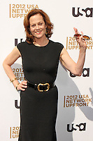 Sigourney Weaver attends USA Network's 2012 Upfront Event at Lincoln Center's Alice Tully Hall in New York, 17.05.2012.  Credit: Rolf Mueller/face to face /MediaPunch Inc. ***FOR USA ONLY***