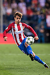 Antoine Griezmann of Atletico Madrid in action during their 2016-17 UEFA Champions League match between Atletico Madrid vs FC Bayern Munich at the Vicente Calderon Stadium on 28 September 2016 in Madrid, Spain. Photo by Diego Gonzalez Souto / Power Sport Images